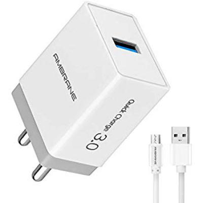 Ambrane AQC-56 Quick Charge 3.0A Fast Wall Charger