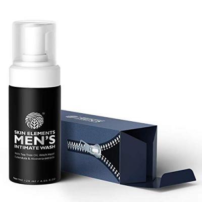 Skin Elements Mens Intimate Wash, 120 ml