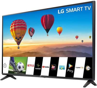 LG All-in-One 80cm (32 inch) HD Ready LED Smart TV 2019 Edition (32LM560BPTC)