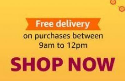 Free Shipping for Everyone | 9am to 12pm | Amazon Great Indian Festival