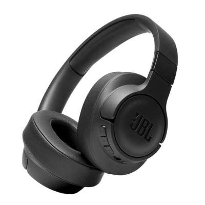 JBL Tune 750BTNC Over-Ear Wireless Active Noise-Cancelling Headphones (Black)