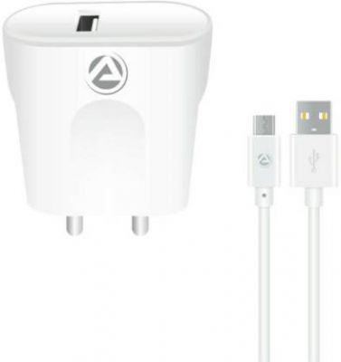 [Pre-Book] ARU ARQ-30 Quick charge 18 W Micro USB 2.1 A Mobile Charger with Detachable Cable (Cable Included)