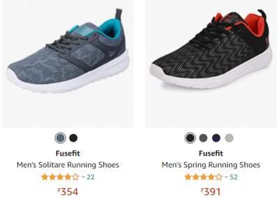 Fusefit Men's Casual & Sports shoes @ 79% Off