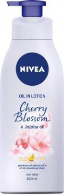 Nivea Cherry Blossom and Jojoba Oil in Lotion (400 ml)