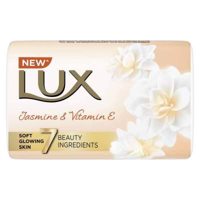 Lux Velvet Touch Jasmine and Almond Oil Soap Bar, ...