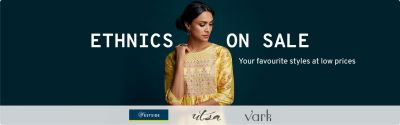 ETHNIC ON SALE | Your favorite styles at low prices