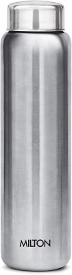 Milton Aqua 1000 Single Walled Stainless Steel Fridge Water Bottle 950ml Silver