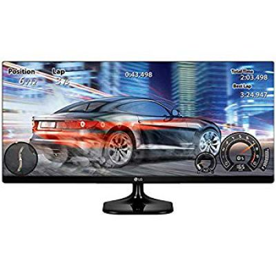 LG 25-inch (63.5 cm) UltraWide Monitor with Full HD Ready (2560 x 1080) IPS Panel, HDMI Port - 25UM58-P