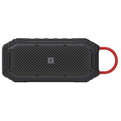 iBall Musi Rock - Portable Outdoor Speaker with IPX6 Water Resistant & Built in Power Bank (Black)