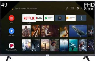 iFFALCON by TCL 123.13cm (49 inches) Full HD LED Smart Android TV with Google Assistant  (49F2A)