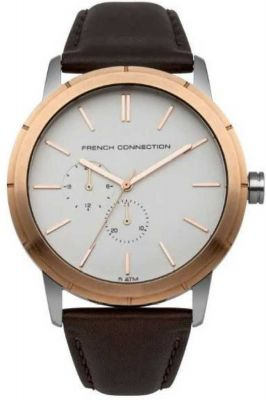 French Connection FC1261TRGAGJ Analog Watch - For Men