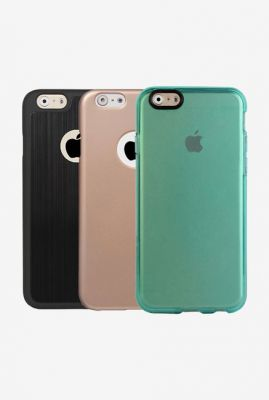 Stuffcool Pack of 3 Cover for iPhone 6S @399