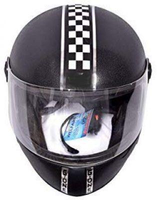 SARTE Motorbike Helmet Top Design Different Look (Black)