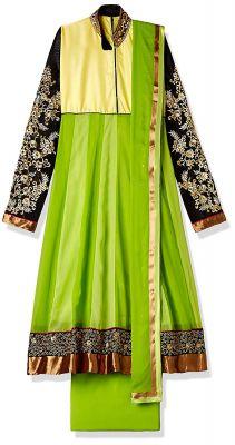 Atisundar Women's Georgette Dress Material