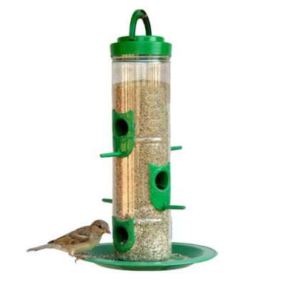 Amijivdaya Large Bird Feeder with Holding Handle