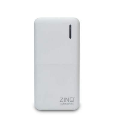 Zinq Technologies Z20KPB 20000mAh Lithium Polymer Power Bank with Dual USB Output