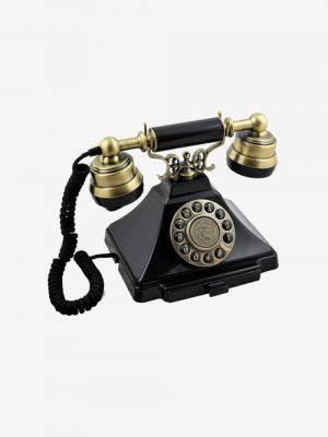 GPO Duke Nostalgia Antique Corded Landline Phone (Black)