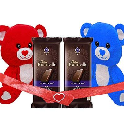 Maalpani Set Of Bournville Rich Cocoa With Teddy Set