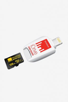 Strontium Nitro iDrive Card Reader with 128 GB microSD Card