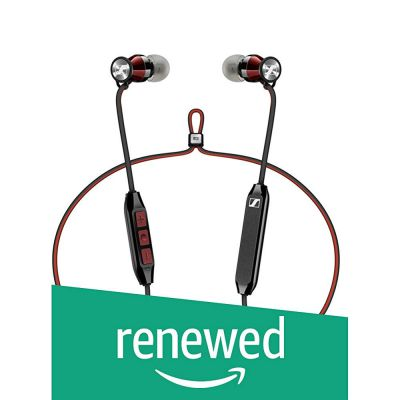 (Renewed) Sennheiser Momentum Free Special Edition - Black/Red