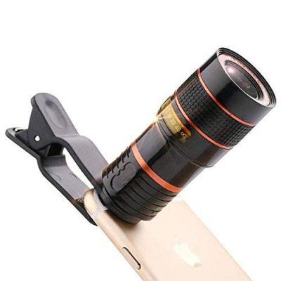TEQNEQ 8X Optical HD Cell Phone Camera Telephoto Lens