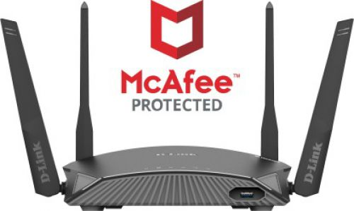 D-Link DIR  Series McAfee Protected Routers
