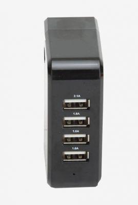 Itek WCH003_BK Four USB Adapter Black