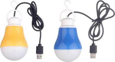 Flipkart SmartBuy (Pack of 2) Portable USB Bulb Led Light (Multicolor)