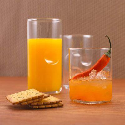 Ocean Tumbler Unity Glass Set, 384.46ml, Set of 6, Clear