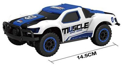 Webby 2.4GHz Remote Controlled Rechargeable Muscle High Speed Car with Speed Upto 14Km/h