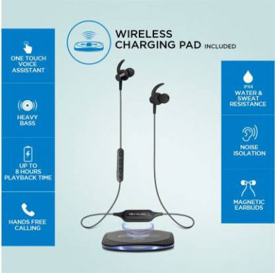 Wireless Charging Bluetooth Headset