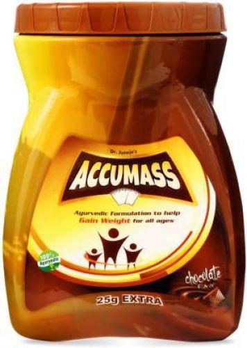 Accumass Weight Gain Granules 525gm Weight Gainers/Mass Gainers  (525 g, Chocolate)