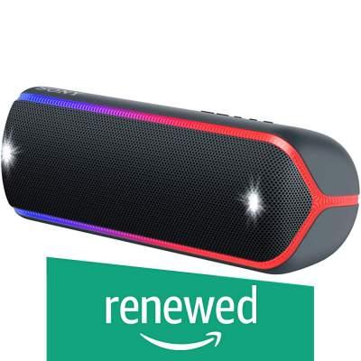 (Renewed) Sony SRS-XB32 Wireless Extra Bass Waterproof Speaker - Black