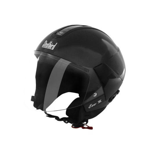 Steelbird SB-33 Eve Dashing Women Helmet Black wit...