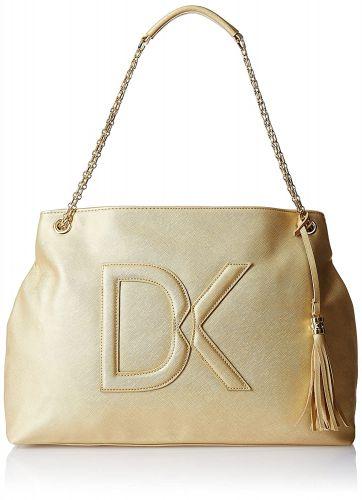 Diana Korr Women's Handbag (Gold) (DK16HGLD)
