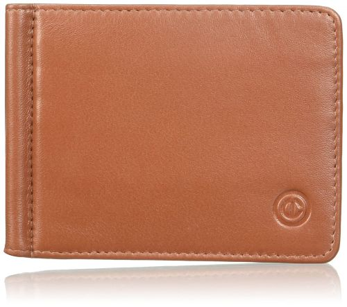 Carlton Knight Wallet Tan Money Clip 1 Genuine Leather Money Clip