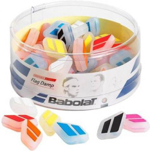 Babolat FLAG DAMP X 50 (Multicolor, Pack of 50)