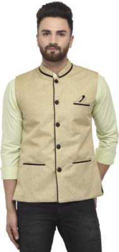 BENSTOKE Sleeveless Self Design Men Jacket