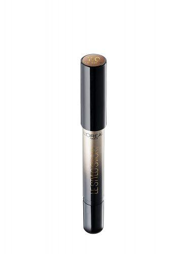 L'Oreal Paris Color Riche Le Stylo Smoky Metallic Eye Shadow, B1 Mocha Coffee, 1.5g