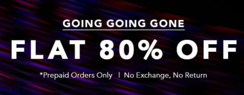 Koovs Flat 80% Off Store: Everything at 80% Discount