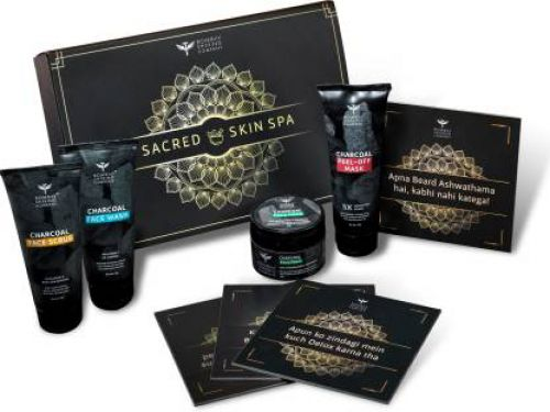 [Pre-Book] Bombay Shaving Company Charcoal Facial Starter Sacred Kit - Limited Edition (4 x 50 g)