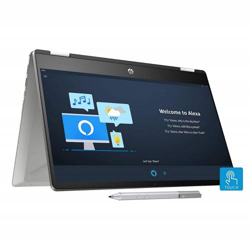 HP Pavilion x360 Core i3 10th Gen 14-inch HD Touchscreen 2-in-1 Alexa Enabled Laptop, 14-dh1006TU