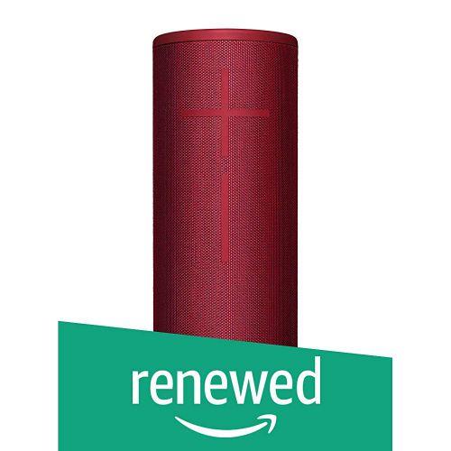 (Renewed) Ultimate Ears Megaboom 3 Waterproof Portable Bluetooth Wireless Speaker (Sunset Red)