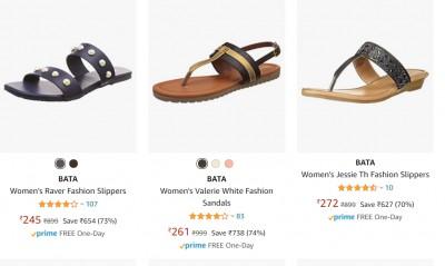 Bata Footwear for Men & Women Upto 72% Off