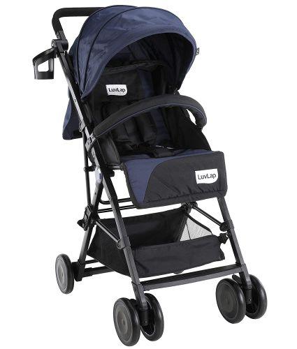 LuvLap Magic Portable Stroller/Pram, Compact & Lightweight, Newborn Baby/Kids, 0-3 Years