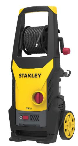 STANLEY 2100Watt 145 Bar, 450 L/hr Flow Rate Industrial Grade Pressure Washer with Induction Motor (Yellow & Black)