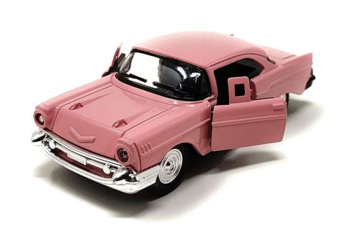 Akrobo Vintage Luxury Die Cast Metal Car Model Auto Series with Pullback Action and Openable Door