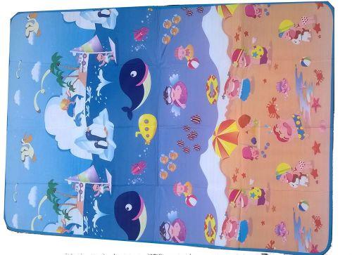 Glitter Collection Kids Floor Mat (Multicolour)