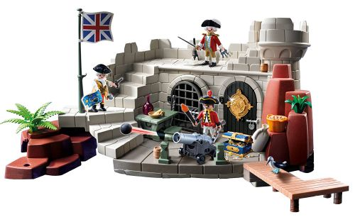 Playmobil Soldiers Fort with Dungeon, Multi Color