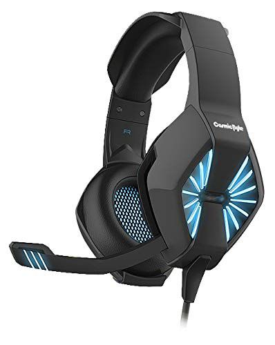 Cosmic Byte Spider Gaming Headphone with Microphone & LED for PC/PS4/Xbox/Mobiles/Tablets